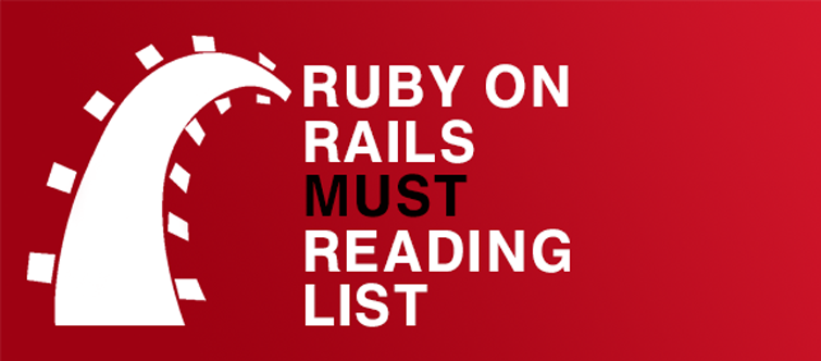 "Ruby on Rails ""Must"" reading list Banner"